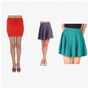Bundle of 3 H&M Skirts